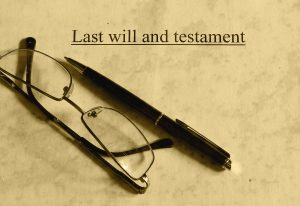 Last will and glasses